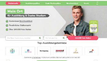 Azubiyo ist ein Portal für die Such nach einem Ausbildungsplatz, Studienplatz oder dualen Studium nach dem Schulabschluss